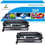 True Image Compatible Toner Cartridge Replacement for HP 26A CF226A 26X CF226X...