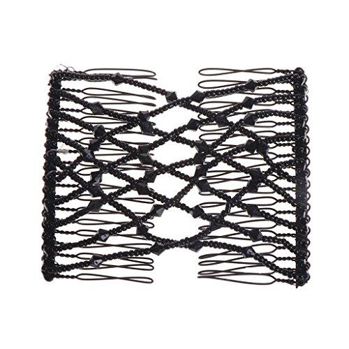 Faguo New Magic Comb Cross Stahl Haarschmuck Schmuck Perlen 6 Farbe Frauen Mode