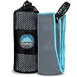Youphoria toalla para deporte y gimnasio–Super absorbente y de secado rápido. 100%