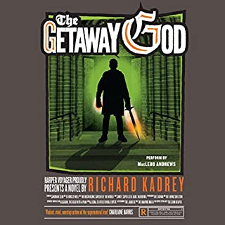 The Getaway God     Sandman Slim, Book 6              By:                                                                                                                                 Richard Kadrey                               Narrated by:                                                                                                                                 MacLeod Andrews                      Length: 11 hrs and 2 mins     1,504 ratings     Overall 4.6