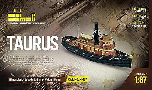 orden ahora con gran descuento y entrega gratuita MINI MAMOLI - Modello Kit Barca Taurus Serie Serie Serie Scala 1 87 - DUS_MM67  minorista de fitness
