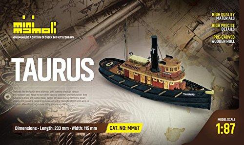 MINI MAMOLI - Modello Kit Barca Taurus Serie Scala 1:87 -