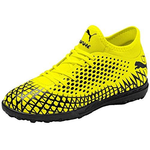 PUMA Kids Boys Future 4.4 Tt Soccer Cleats - Yellow - Size...