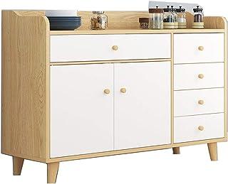 BGROESTWB Cabinetétage Armoire de Rangement Buffet Buffet, Bois Rangement Cabinet, Table Console avec étagère de Rangement...
