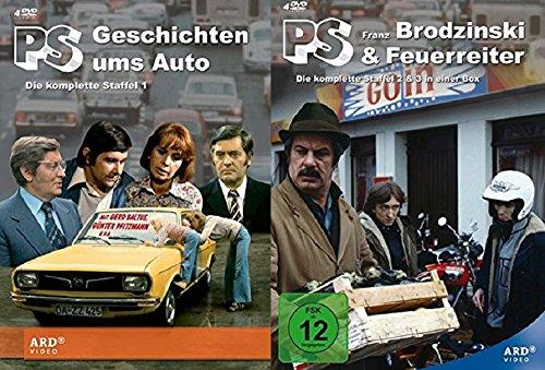 PS - Geschichten ums Auto,Franz Brodzinski,Feuerreiter Staffel 1-3 (1+2+3) [DVD Set]