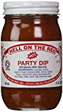 Hell On The Red, Authentic Texas Hot Party Dip, 16 Ounces (Pack of 1)