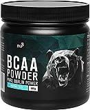 nu3 BCAA en polvo - 400g powder sabor neutral - 40 porciones de aminoácidos...