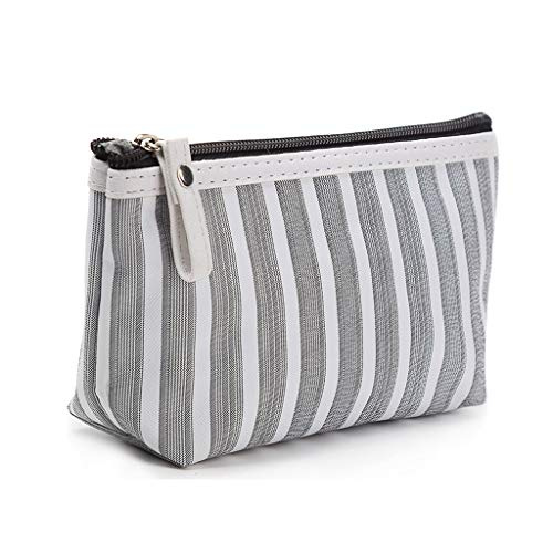 CADANIA Multifonction Cosmetic Bag Makeup Case Pouch Toiletry Zip Organizer Travel - Grey