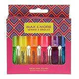 Max & More Nail Polish 6 unidades