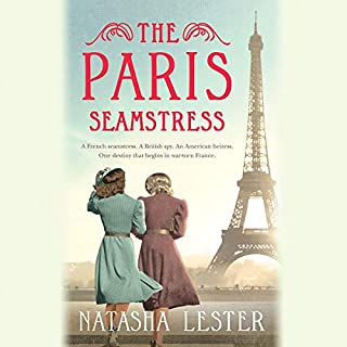The Paris Seamstress audiobook cover art