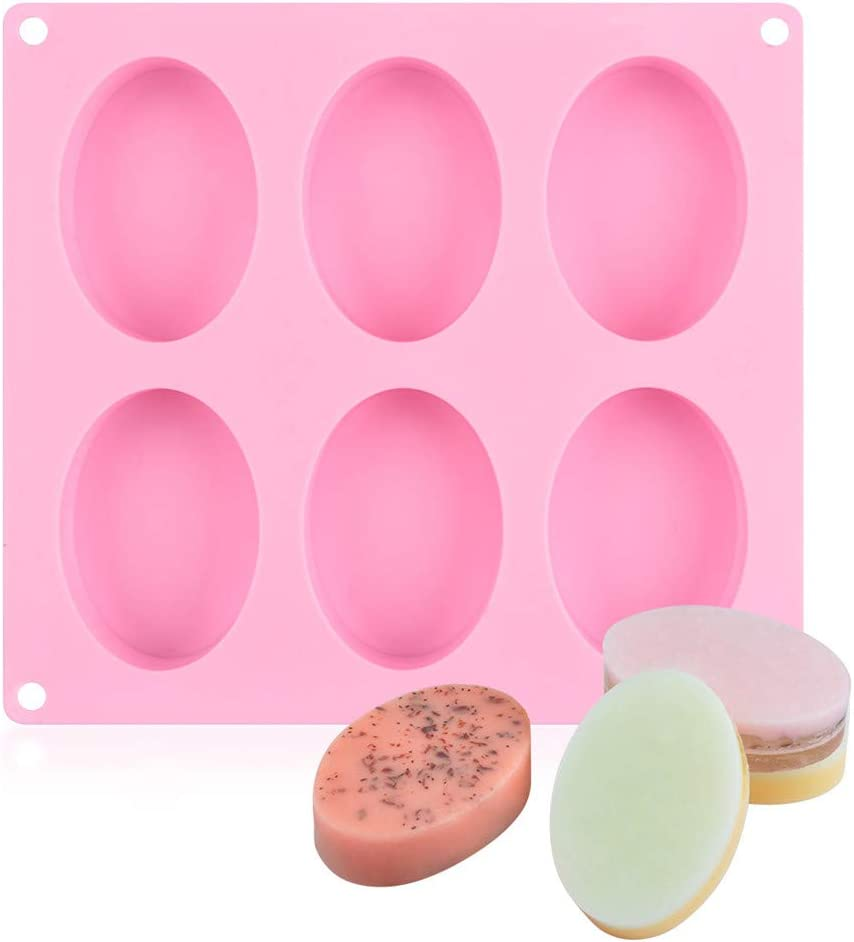SJ Max 78% OFF Oval Silicone Mold Bombing free shipping 6 Cavity So Bar 3.5oz Rectangle Molds for