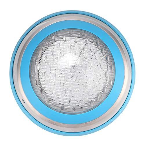 Lâmpada led para piscina, iluminação subaquática à prova d'água para piscina multicolor fixada na parede com controle remoto (AC12V 35W)