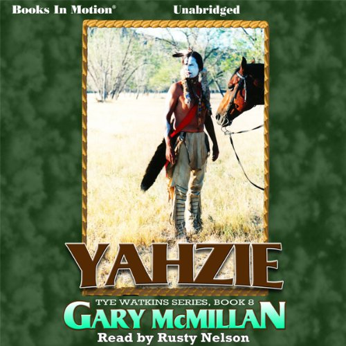 Yahzie audiobook cover art