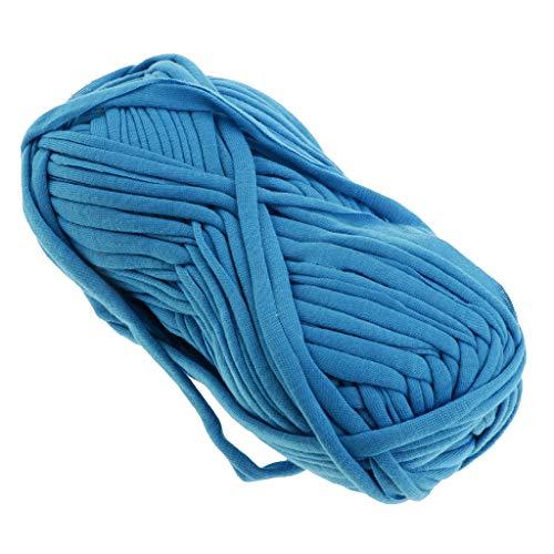 perfk 100g Textilgarn zum Häkeln und Stricken, Jerseygarn Häkelfaden für Handwerk DIY Projekte - 62