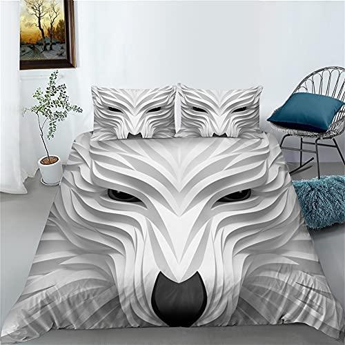 Conjunto de Cama de Cama casera 3D creativeunique diseño de la Cubierta del edredón Conjuntos de Cama King Size (Color : 5, Size : Cama105)