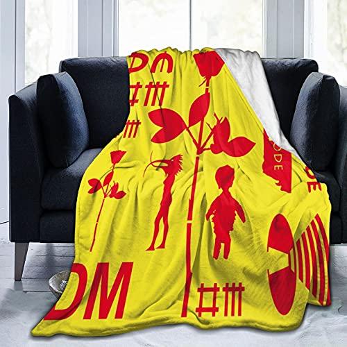 Depe-Che Musikmodus Flanelldecke Bettwäsche Fleece Decke Weiche Überwurfdecken Klimaanlage Decke für Sofa Couch Wohnzimmer Schlafzimmer