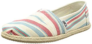 TOMS Women's Classics Woven Stripes Espadrille Pumps Pale UK 4.5 Pink (B01H61BWOS) | Amazon price tracker / tracking, Amazon price history charts, Amazon price watches, Amazon price drop alerts