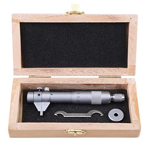 Calibrador de micrómetro - 5-30mm Diámetro Rango Micrómetro interior Diámetro del orificio interno galga de 0,01 mm de precisión