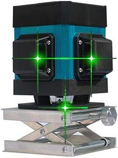 Festnight Autonivelaci/ón de 2 l/íneas Nivel verde Nivel profesional Nivel de cruzado horizontal y vertical Nivel con l/íneas de seleccionables y difusi/ón de haz vertical