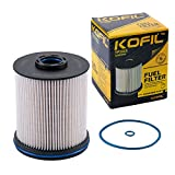 TP1015 Fuel Filter Fit for 6.6L Duramax Diesel Compatible with Chevrolet Silverado 2500HD,3500HD 2017-2019/Chevrolet Cruze 2014-2019/GMC Sierra 2500HD/3500HD 2017-2019 Replace 23304096