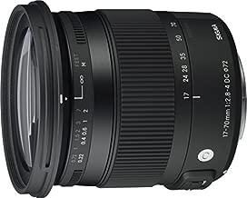 Sigma 17-70mm f/2.8-4 DC Macro OS (Optical Stabilizer) HSM Lens for Canon EOS Cameras