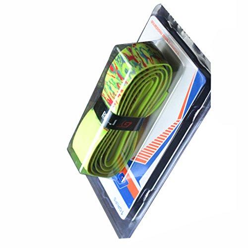 MagiDeal Top-Qualitäts Griffbänder - Overgrip für Tennis/Badminton/Squash/Angelruten - Anti-Rutsch Schläger Bänder - Grün