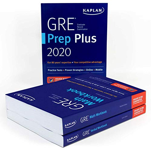 GRE Complete 2020: 3-Book Set: 6 Practice Tests + Proven Strategies + Online (Kaplan Test Prep)