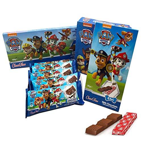 Paw Patrol Schokoladen Paket mit den Helfern auf Vier Pfoten