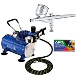 Best Airbrush Kits - Master Airbrush Multi-purpose Gravity Feed Dual-action Airbrush Kit Review