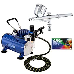 Best Choice for Best Airbrush Kit: Master Airbrush Multi-purpose Gravity Feed Dual-action Airbrush Kit