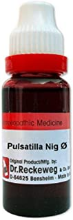 Dr. Reckeweg Germany Homeopathic Pulsatilla Nigricans Mother Tincture Q (20 ML) by Qualityexports