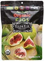 Nature s Wild Organic ワイルド 無加工 日干しオーガニックトルコイチジク 6オンス 170 g