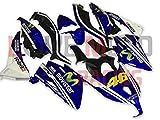 LoveMoto Carenados para TMAX530 2012 2013 2014 12 13 14 TMAX 530 Kit de carenado de Material plástico ABS Moldeado por inyección para Moto Azul Negro