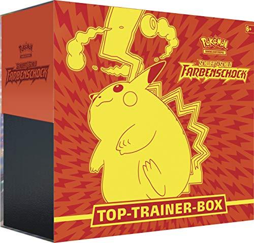 Pokémon International 45230 PKM SWSH04 Top-Trainer Box