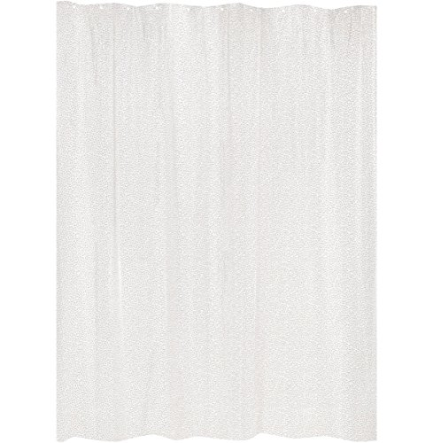 GELCO Duschvorhang 'KRACKLE' 180x200 cm - transparent - Regentropfen-Muster - DESIGN-Duschvorhang