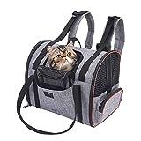 WLDOCA Mochila de Transporte para el pequeño Perro del Gato, Bolso Plegable Lavable Plegable para el avión de Viaje Tren Tren Avión homologado