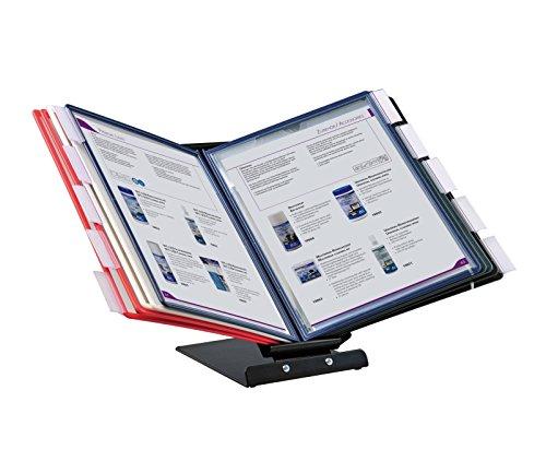 OfficeForce® Sichttafel-Tischständer oder Wandmontage, 360 Grad drehbar (01127)
