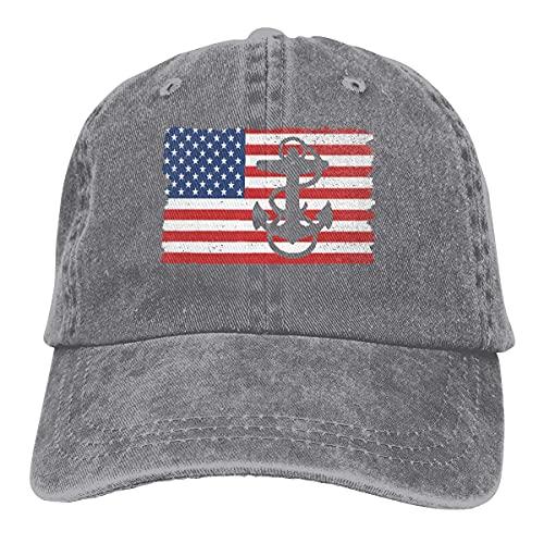 Snapback Cap Us Navy Chief Petty Officer Amerika Flagge Trucker Cap Hip Hop Baseball Cap Winddichte Frauen Benutzerdefiniert Einstellbar Einstellbar Sonnencreme Cowboyhut Outdoor-