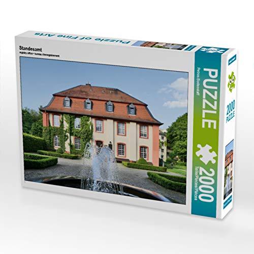 CALVENDO Puzzle Standesamt 2000 Teile Lege-Größe 90 x 67 cm Foto-Puzzle Bild von Petrus Bodenstaff
