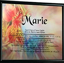 personalized name meaning print