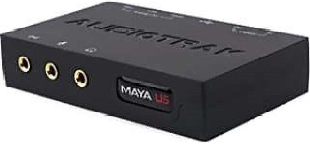 Max 73% OFF AUDIOTRAK MAYA-U5 USB Max 59% OFF Sound Card