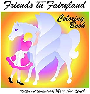 Friends in Fairyland Coloring Book