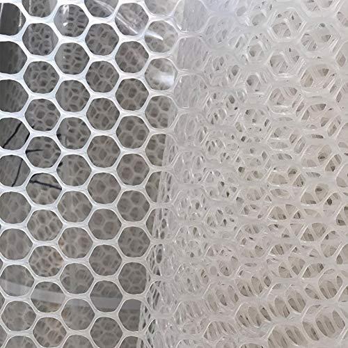nobrand Kunststoffgitter Netz Geflügelnetz - Treppengeländer Netz Gartenzaun Netz Hühnernetz Katzennetz Treppe Absturzsicherung Zaun Bauprodukte (Size : 1mx10m)