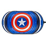 Colourful Case Cover for Samsung Galaxy Buds Earphone with Avengers Character (Captain America)