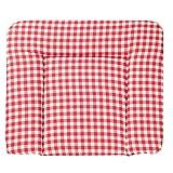 roba Wickelauflage 'Sunny Day rot', weiche Wickelunterlage 85 x 75 cm, Baby Wickeltischauflage PU beschichtet