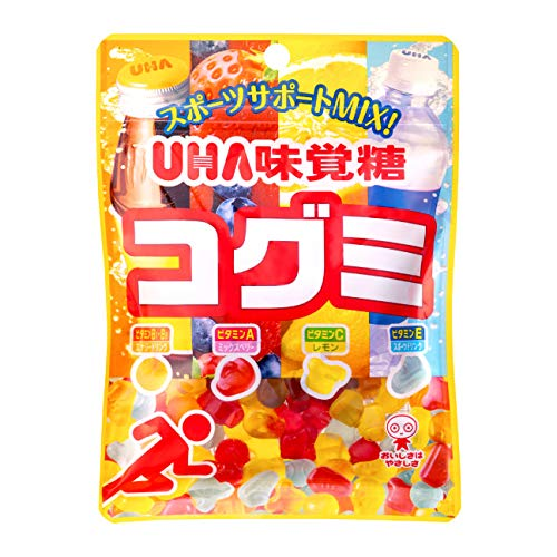UHA味覚糖 コグミ スポーツサポートMIX 80g ×10袋