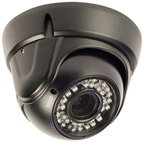 König SAS-CAM3200 Dome-Überwachungskamera mit Zoomobjektiv schwarz