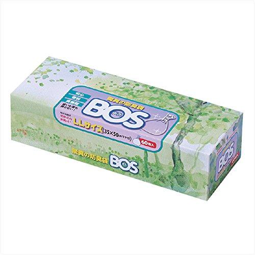 クリロン化成 ボス 防臭袋 ビッグタイプ 大人用おむつ処理用 60枚入