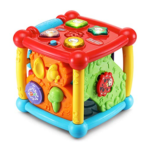 Vtech- Kid Baby Cube d'éveil, 80-150505 - Version FR