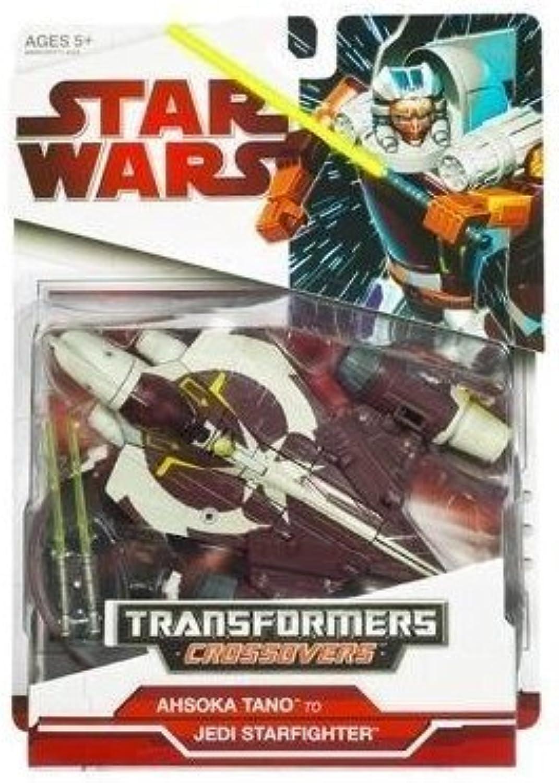 Star Wars Transformers Credvers Ahsoka Tano to Jedi Starfighter